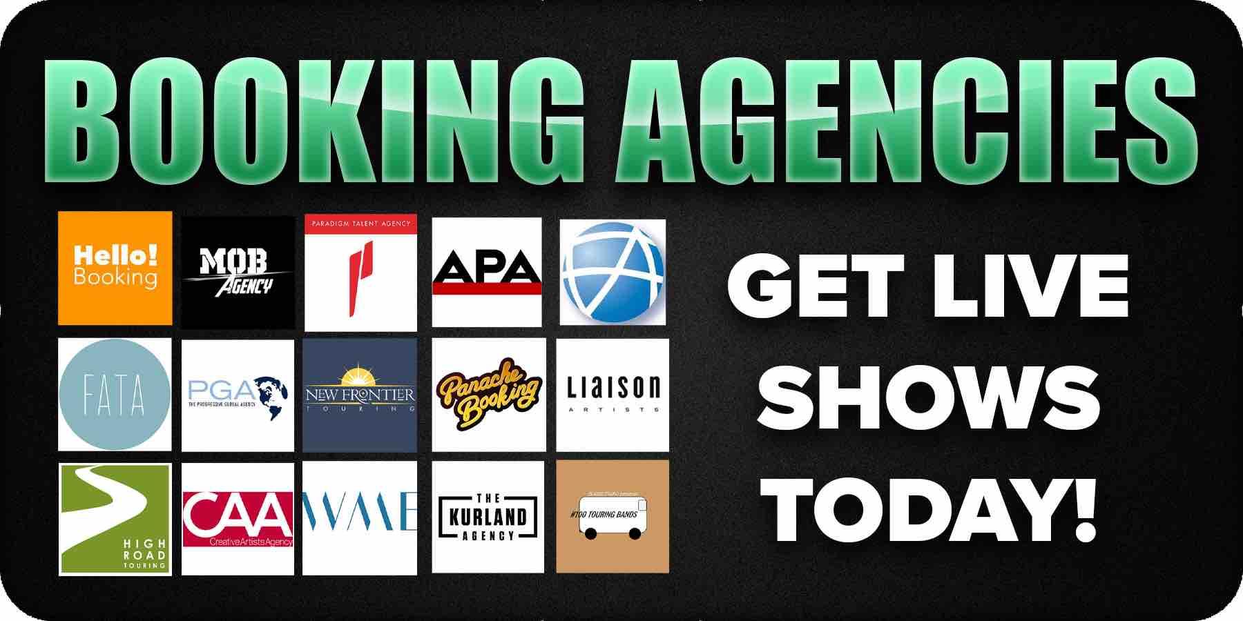 20 best booking agencies