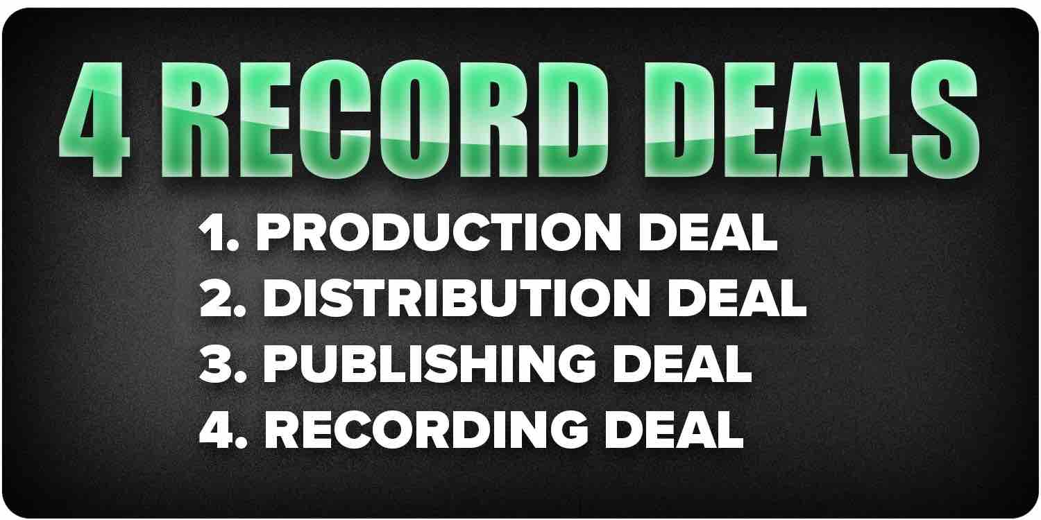 4Types of record deals