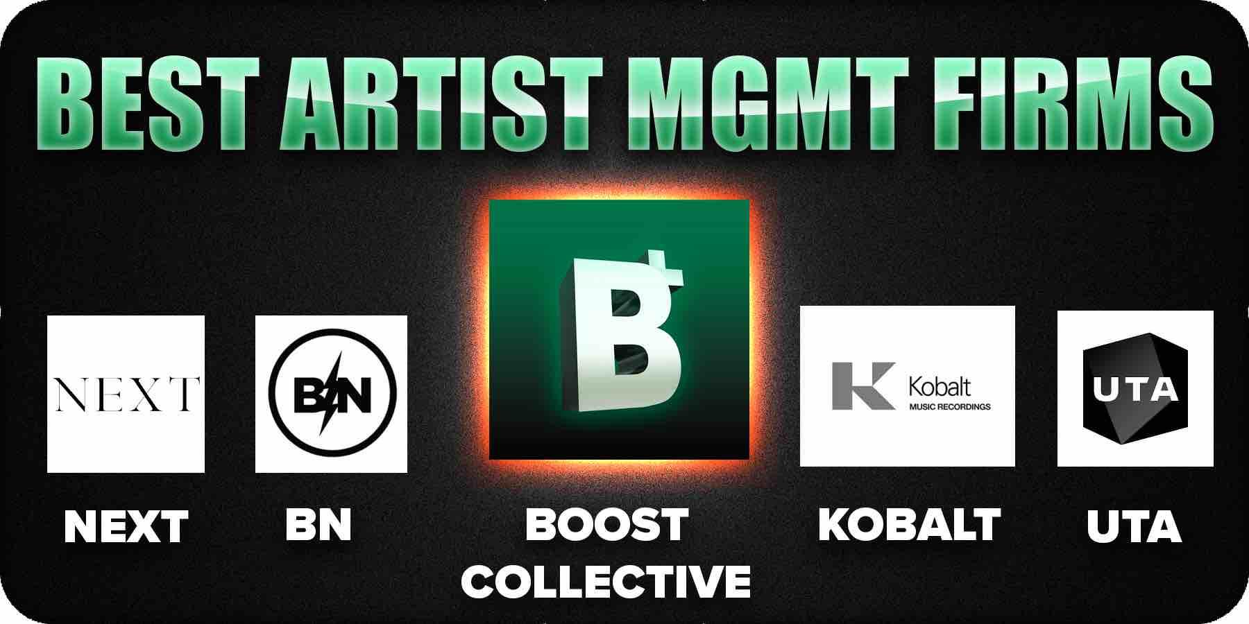 5 Best artist management firms