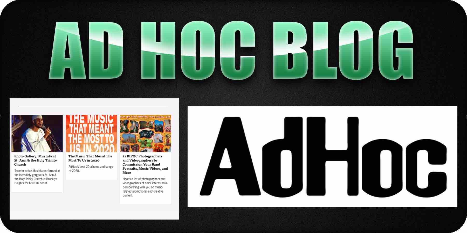 Ad Hoc Music Blog