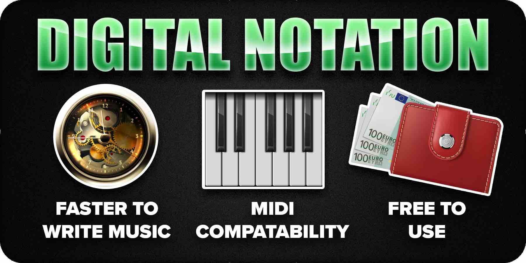 Digital Notation benefits