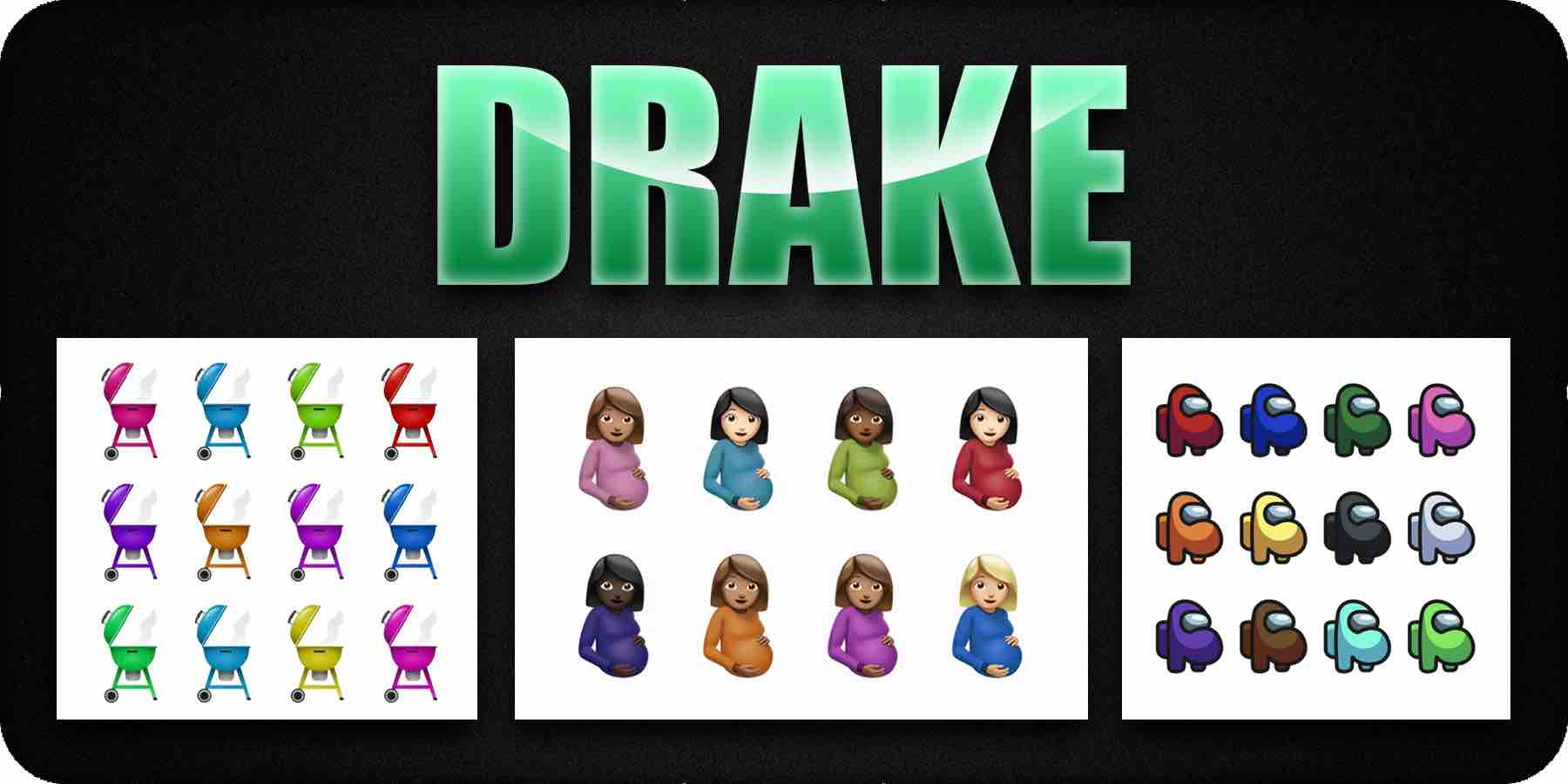 Drake cartoon cover art