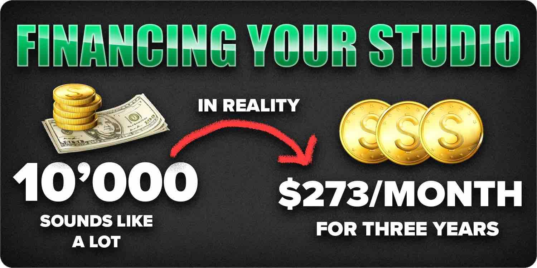 Financing your studio