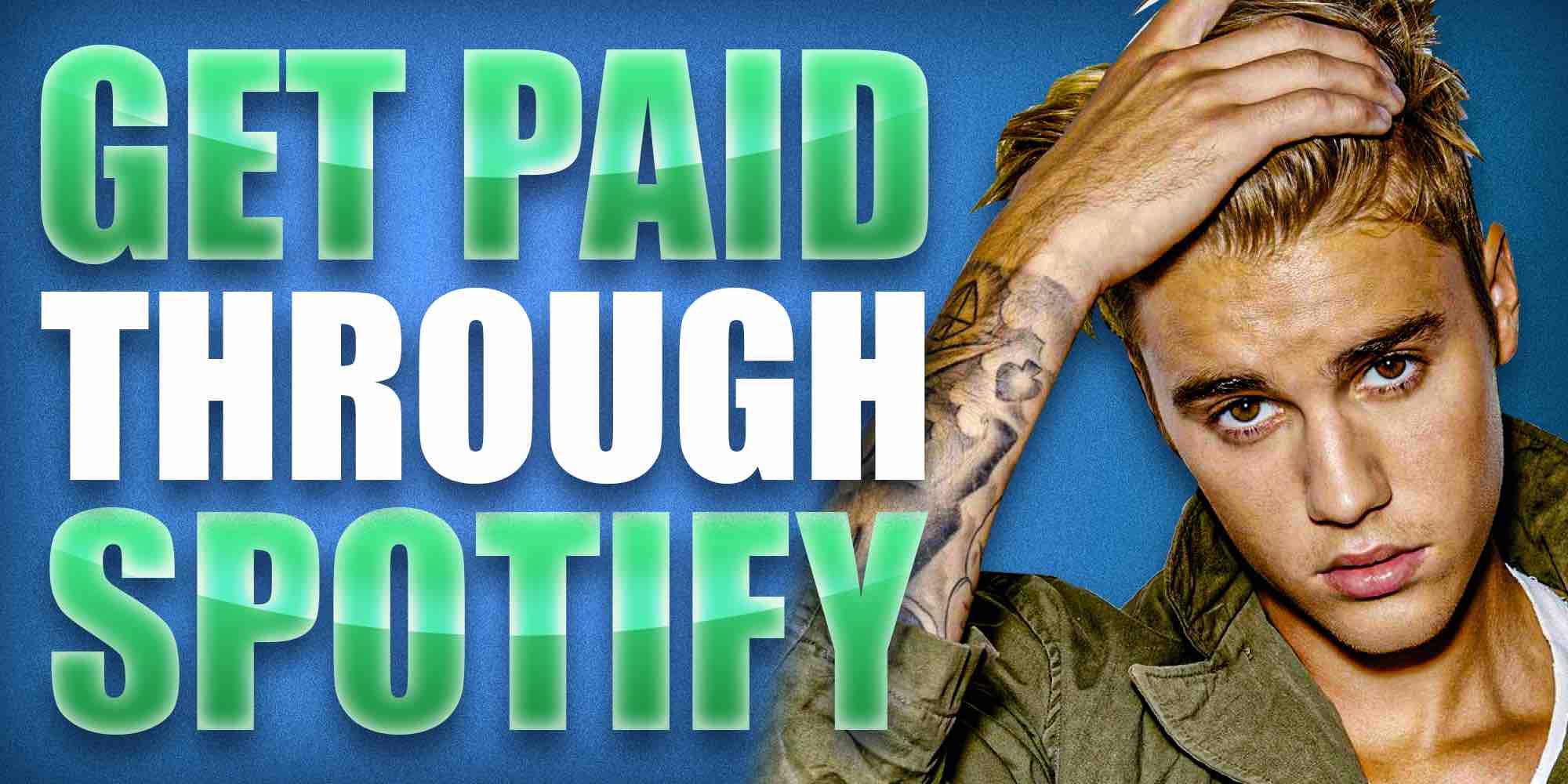 Get Paid Through Spotify