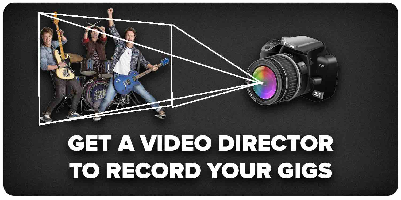 Get a video director