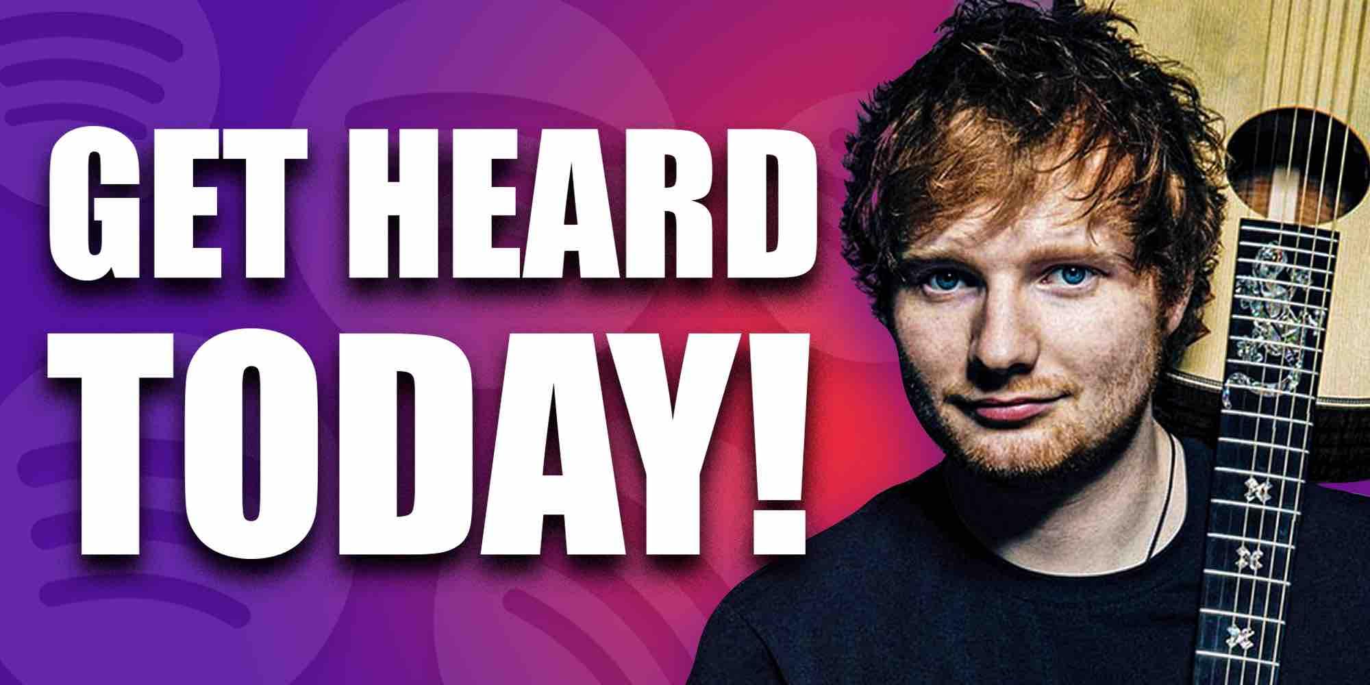 Get heard on Spotify playlists