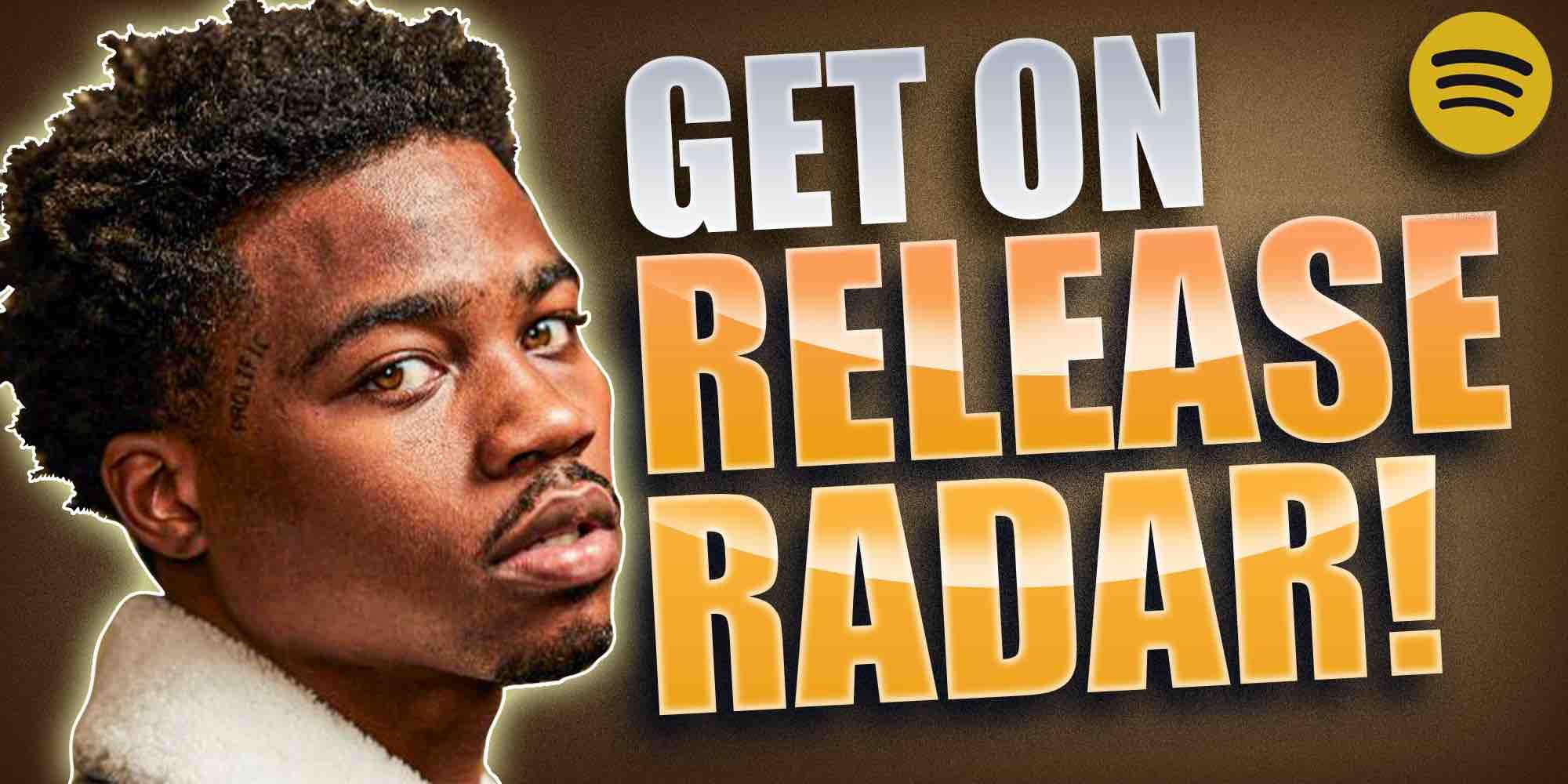 Get on release radar