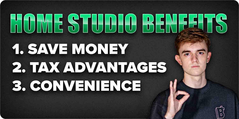 Home studio benefits