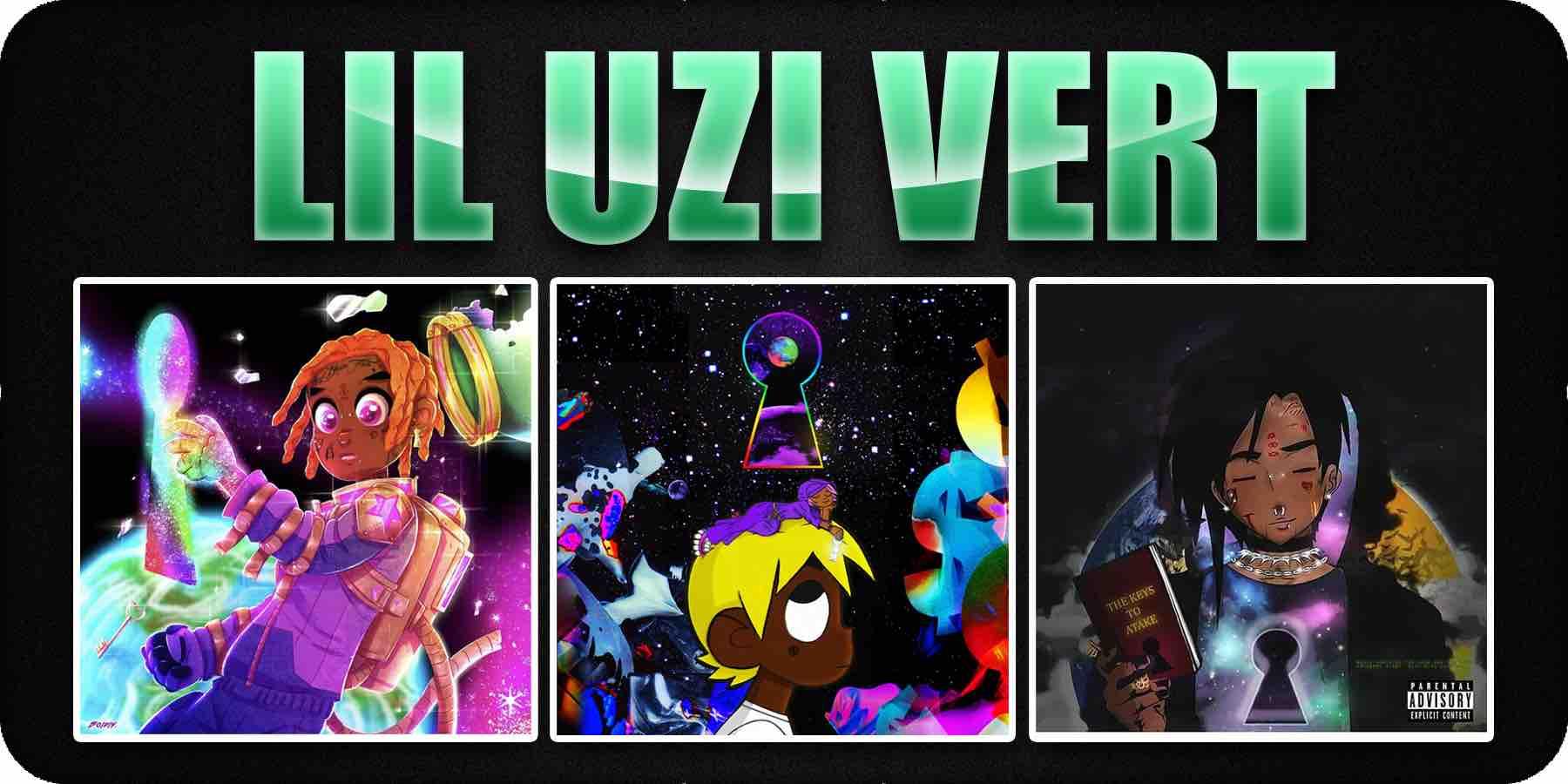 Lil Uzi Vert cartoon album art