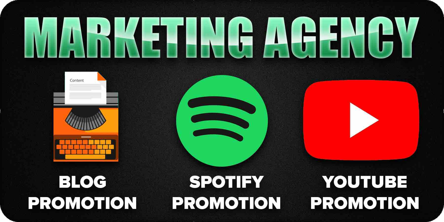 Marketing agency benefits and services
