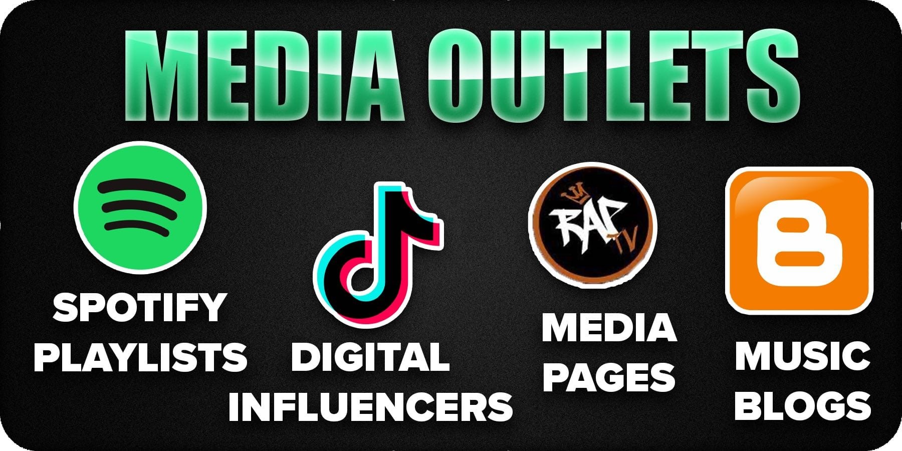 Media outlet network connections press