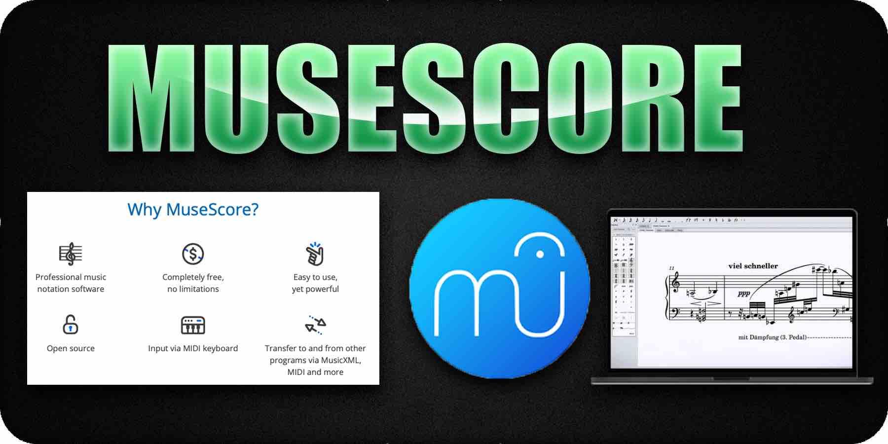 MuseScore Audio Notation Software