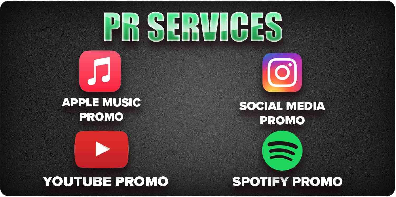 Music PR services