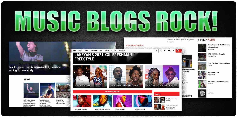Music blogs rock