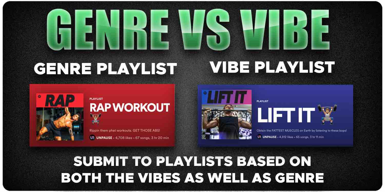 Playlist Genre vs Playlist Vibe