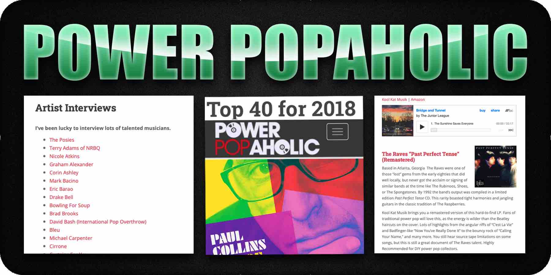 Power Popaholic (Music Blog)