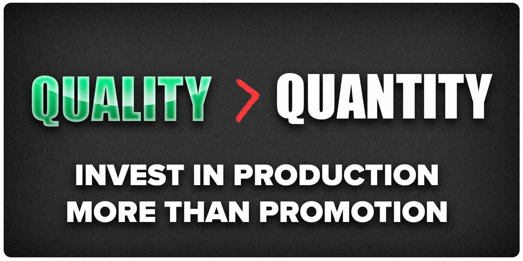 Quality over quantity to get on Release Radar