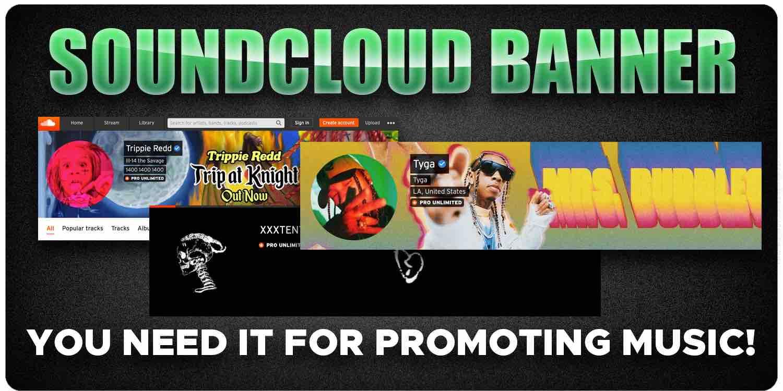 SoundCloud banner art