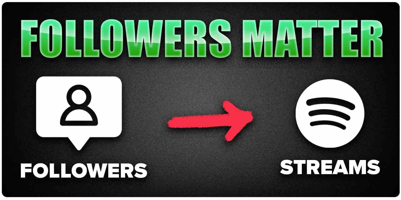 Spotify followers matter