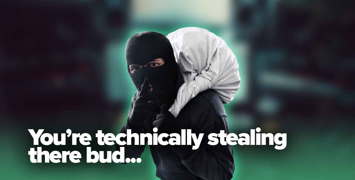 Spotify thief