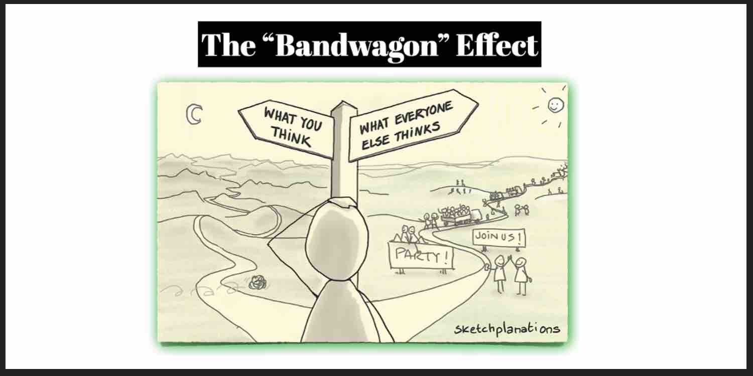 The Bandwagon Effect for promotion