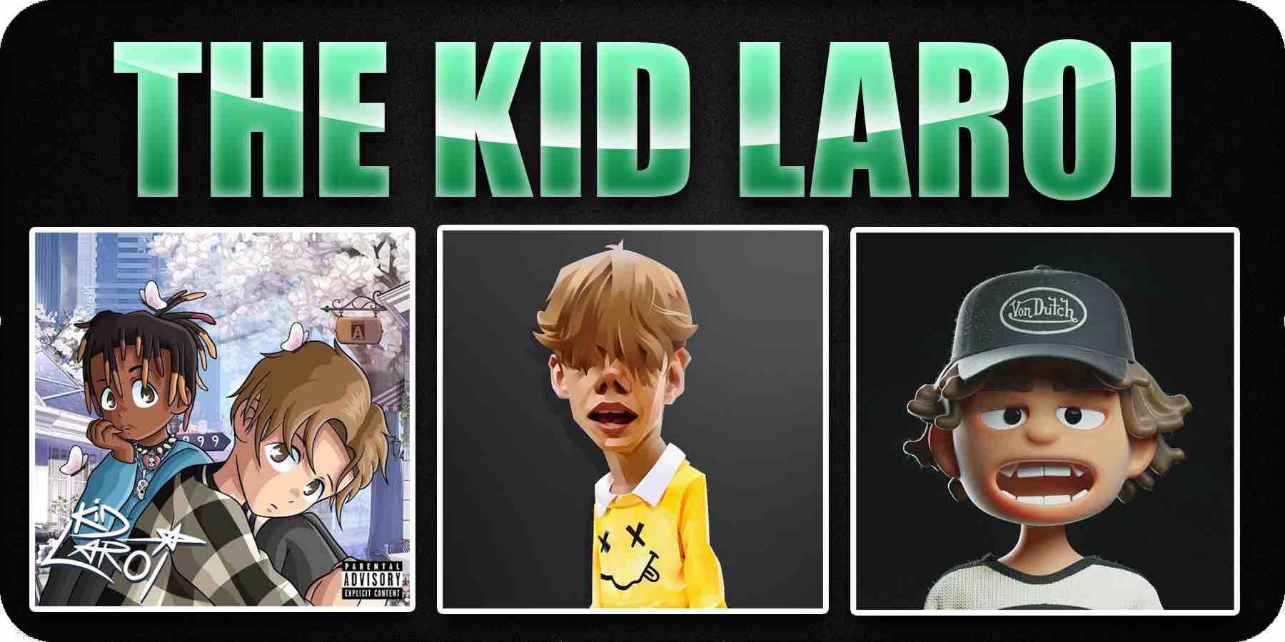 The Kid Laroi Cartoon album cover art