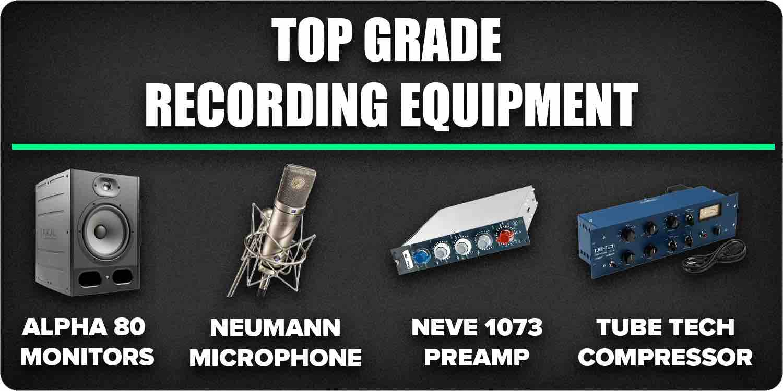 Top grade recording equipment