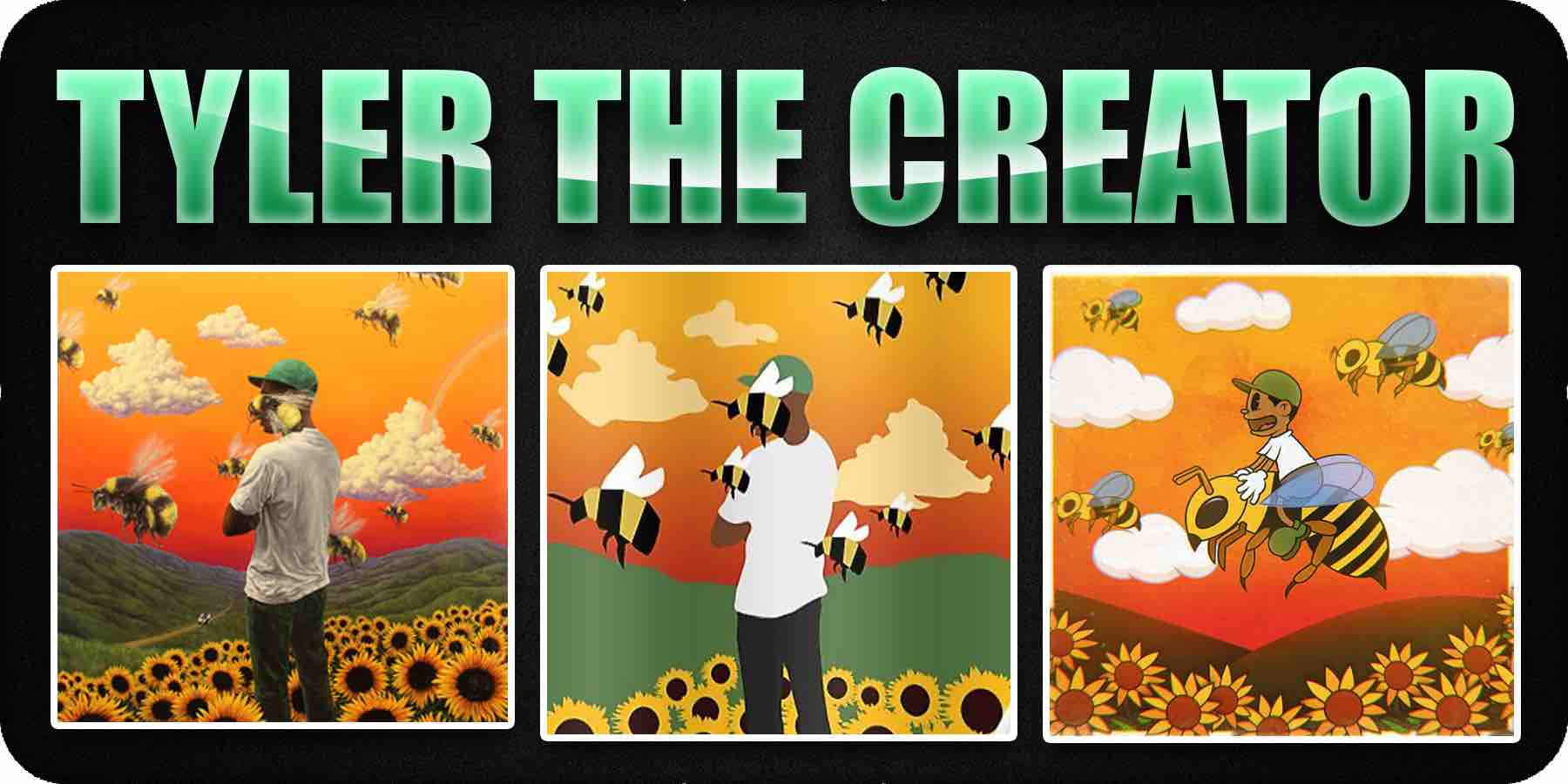 Tyler the creator cartoon album cover