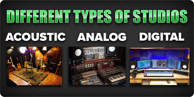 Types of studios