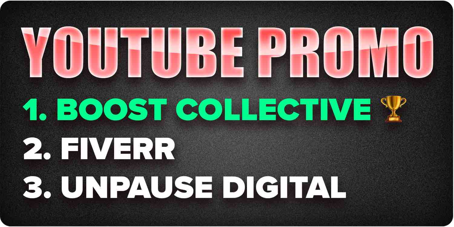 Youtube promotion services
