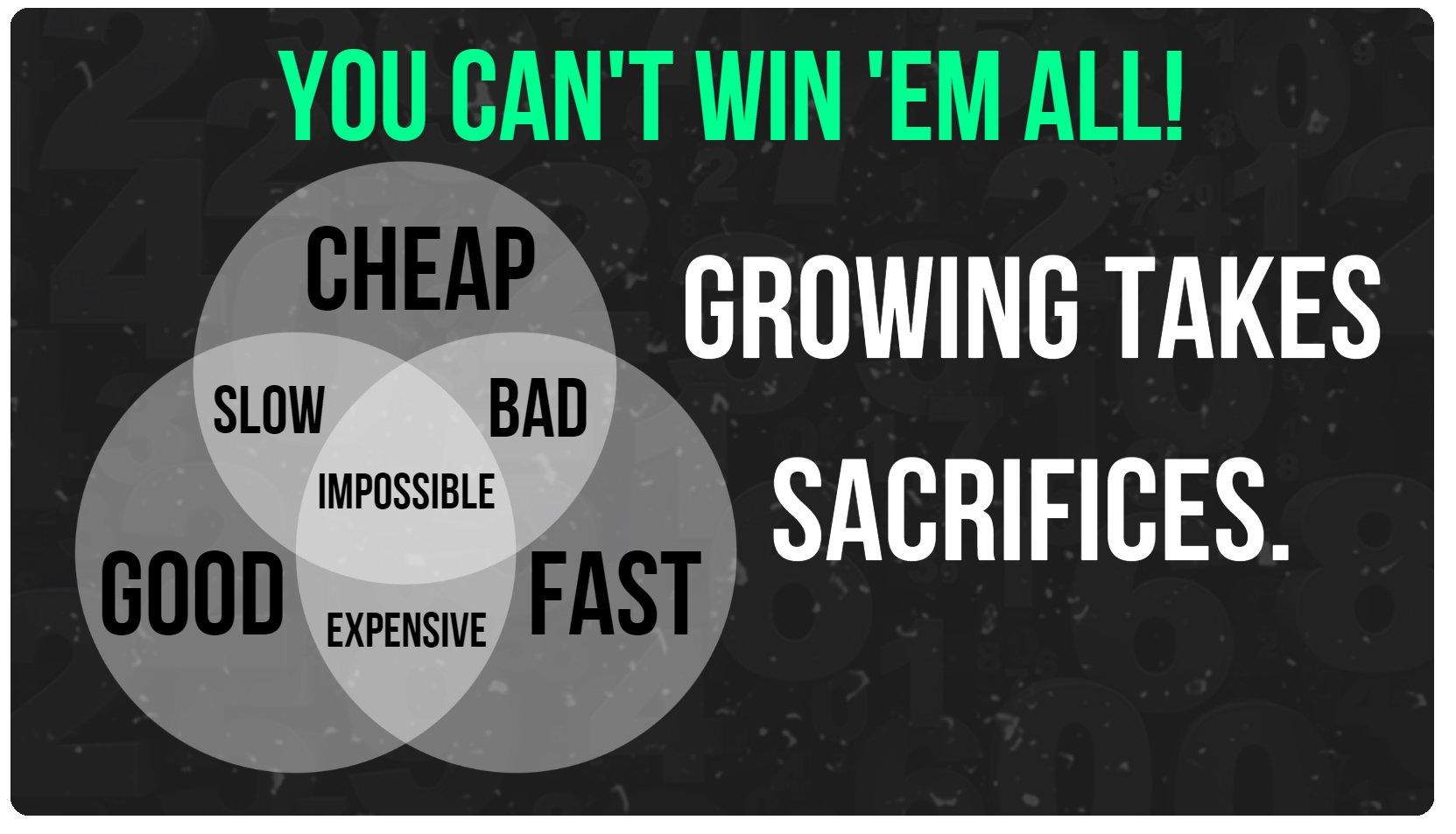 grow sacrifrice