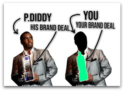 Puff Daddy Brand Deal
