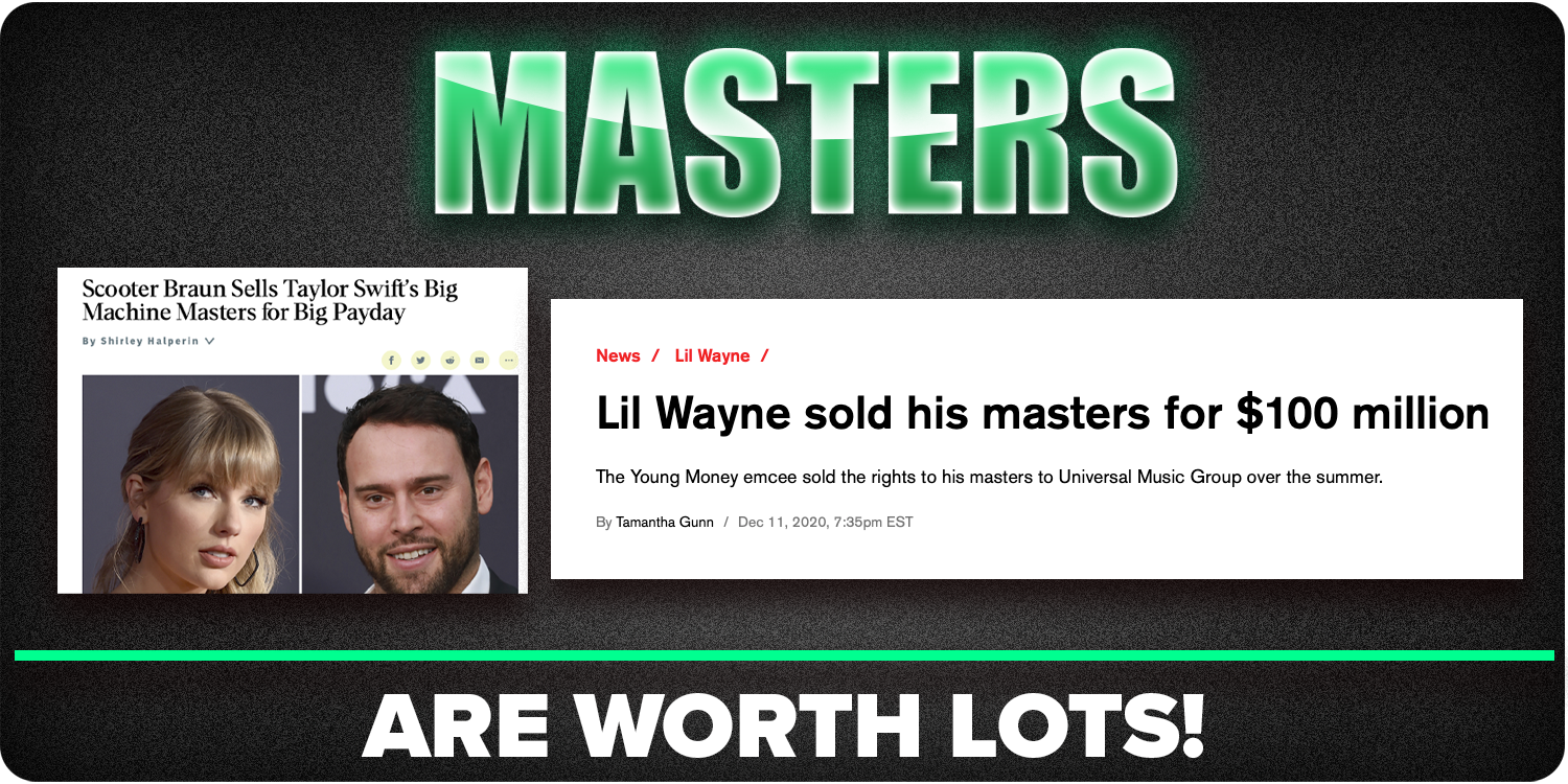 masters are everythin
