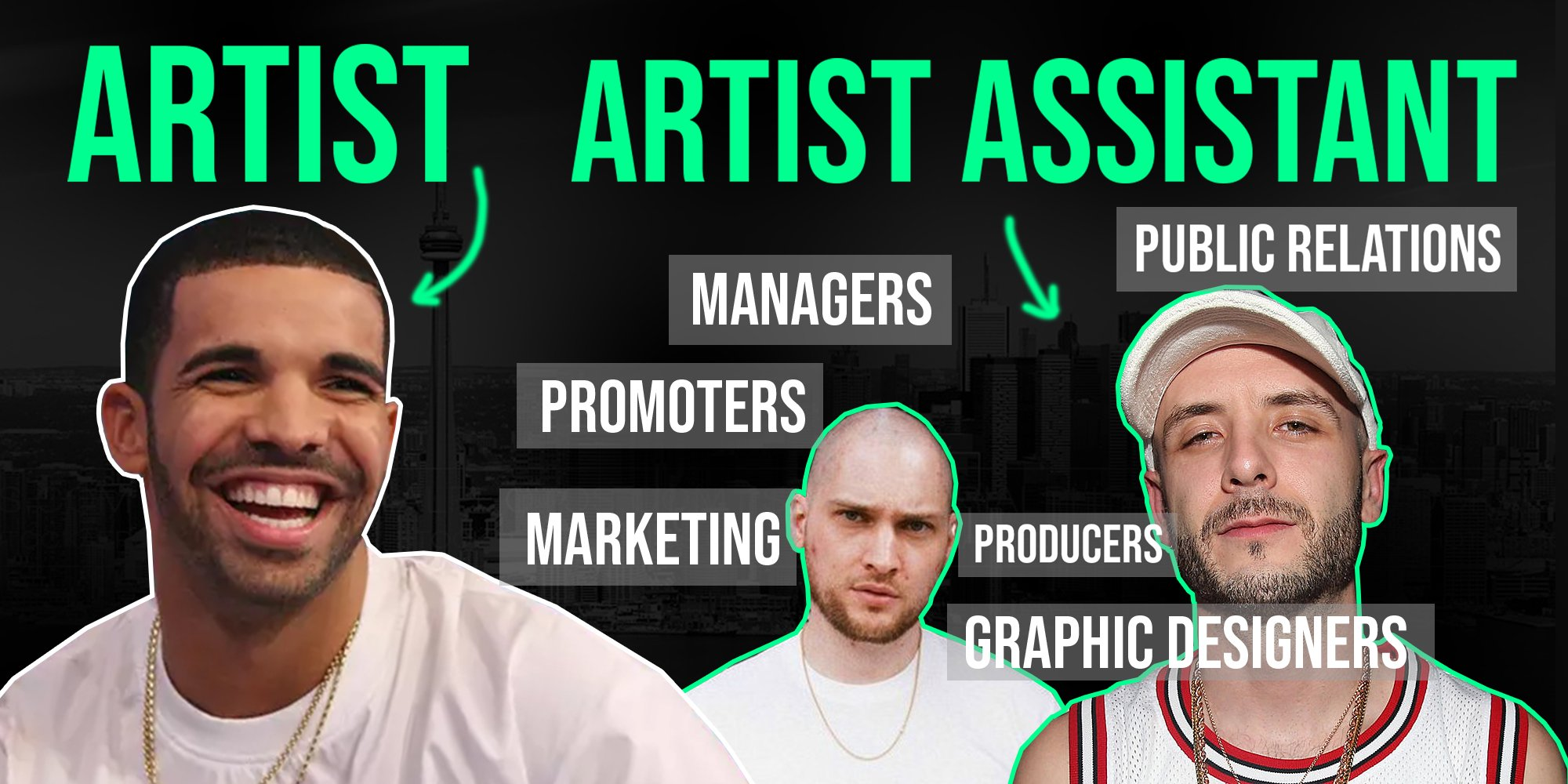 Top artists have assistants. You should too!