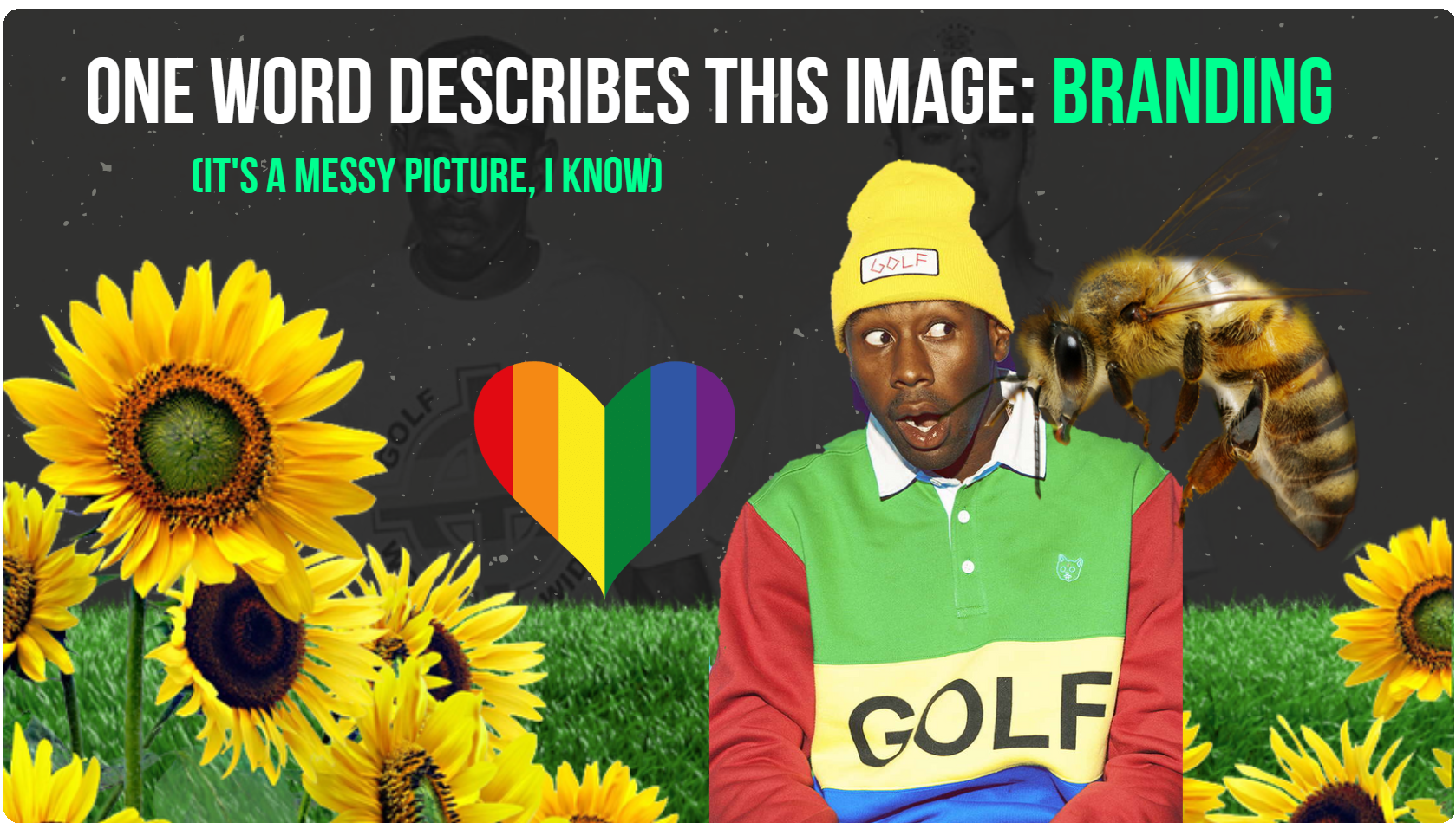 Tyler The Creator - example of great branding