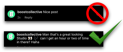 Good Vs. Bad comments