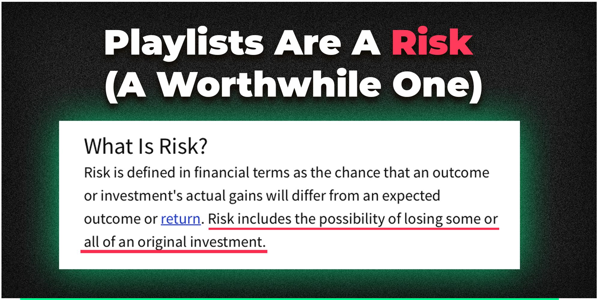worthwhile risk