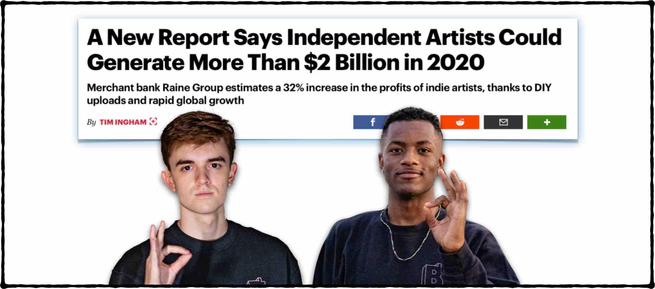 Indie Artists Success